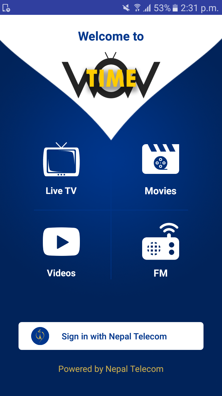 Nepali Streaming App