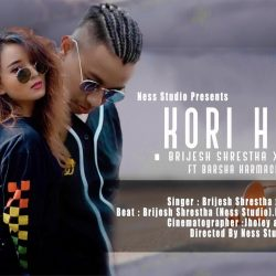 KORI HERA Lyrics Brijesh Shrestha