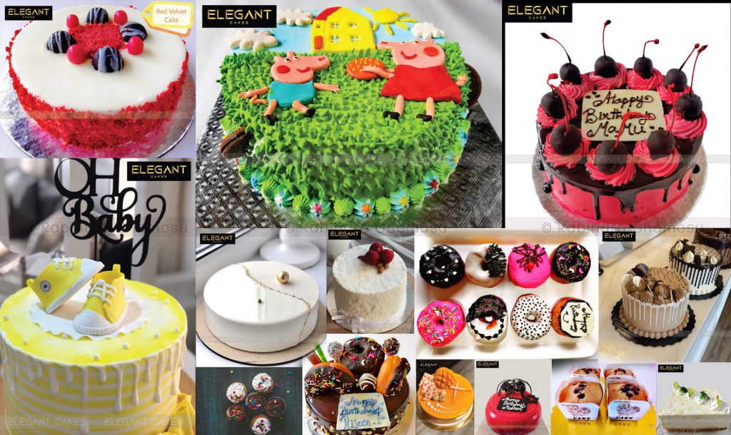 Elegant Cakes Recipes Collection